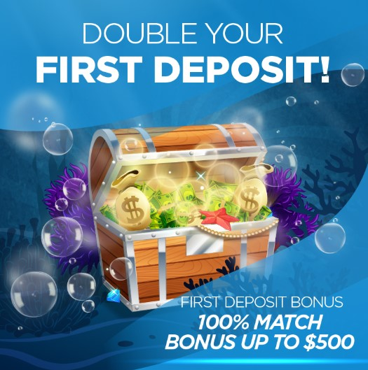 Ocean Casino Double Your First Deposit