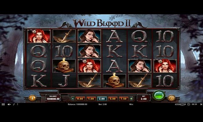 Wild Blood 2 – from Play 'N Go